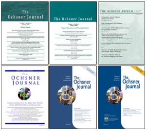 Old Ochsner Journals