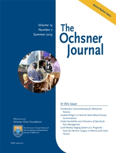 The Ochsner Journal Summer 2014